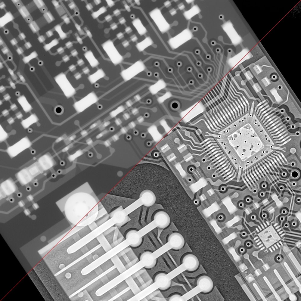 mother board x-ray